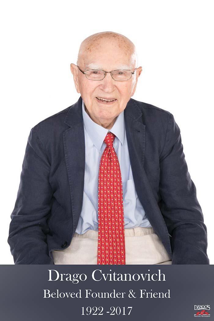 Drago Cvitanovich, beloved founder and friend, 1922-2017