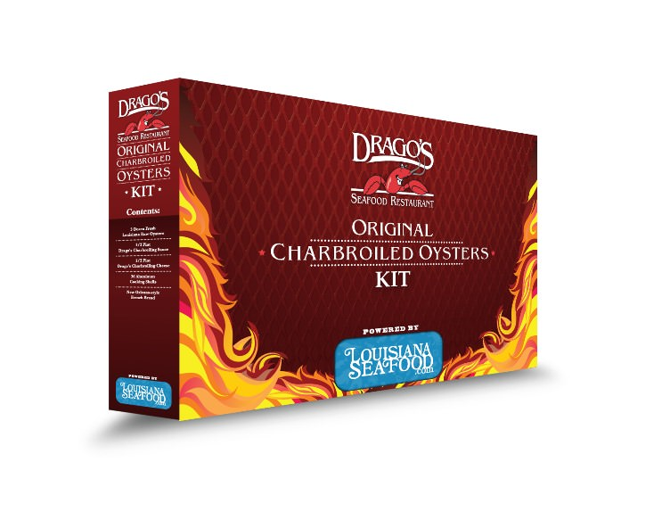 An image of the Original Charbroiled Oysters Kit from Drago's